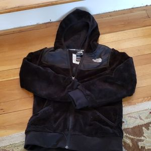 Black Girl's North Face Oso Hoodie